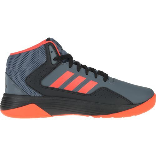 Adidas boys cloudfoam ilation scarpe da basket (onix / rosso