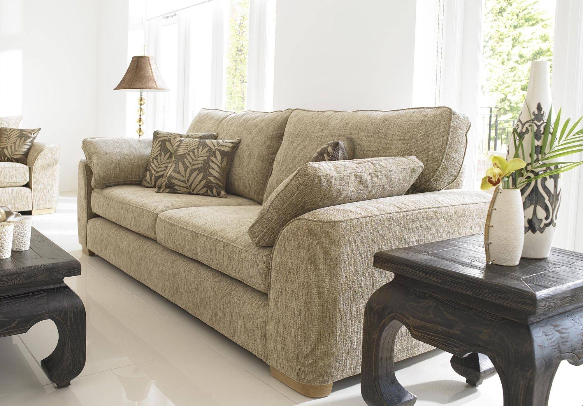 Furniture Village Leather Corner Sofa Bed Tuft 2 Seater Scatter Back Lonsdale Sets