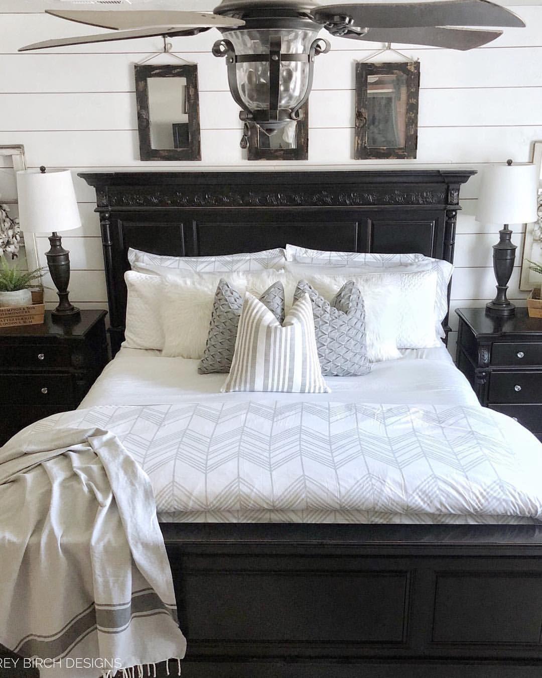 38++ Black farmhouse bedroom furniture inspiration