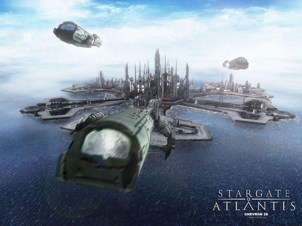 Stargate Atlantis Wallpaper Sga Stargate Stargate Ships Stargate Atlantis