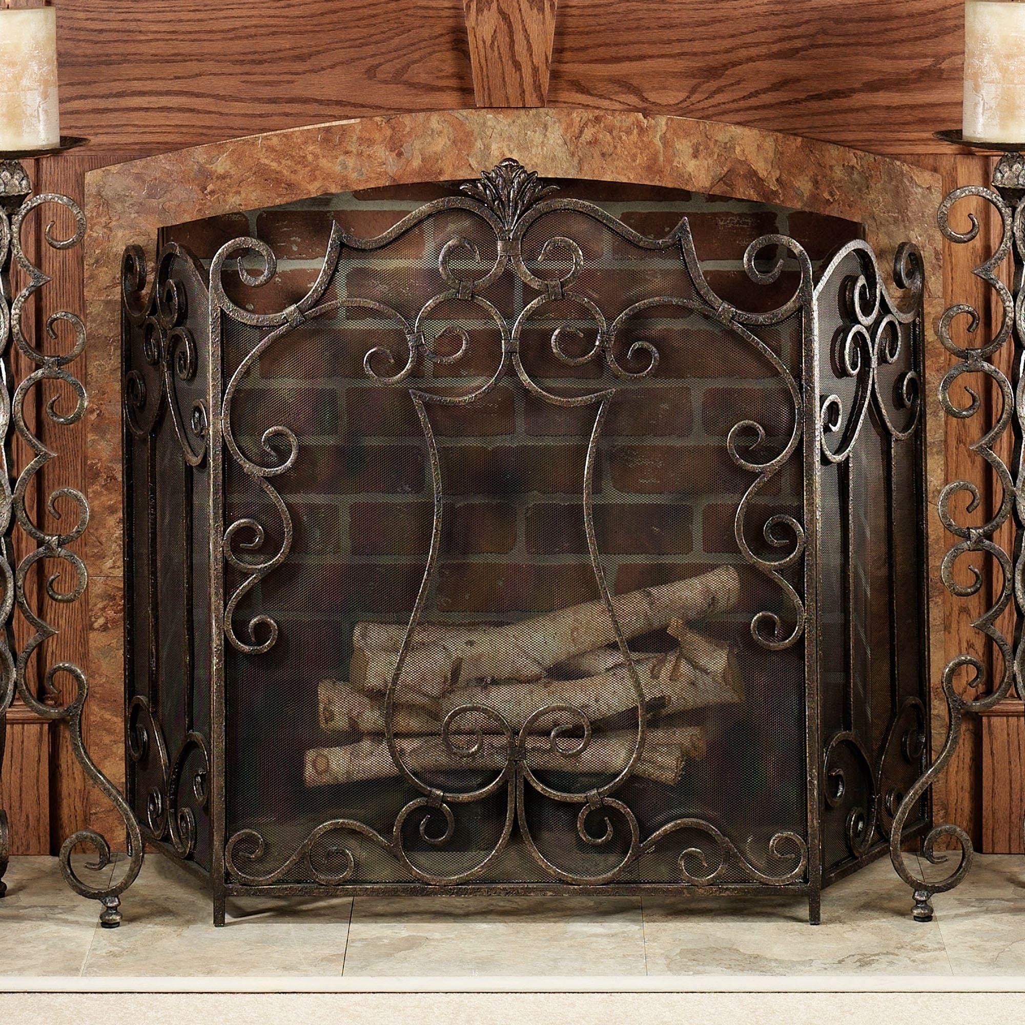 Belleville Fireplace Screen Decorative Fireplace Screens Fireplace Screens Fireplace Screen