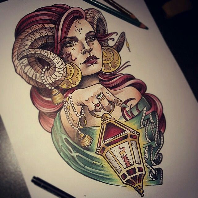 Ram Tattoo For Woman: Pin By Samantha Weekly On Tattoos And Tattoos Ideas
