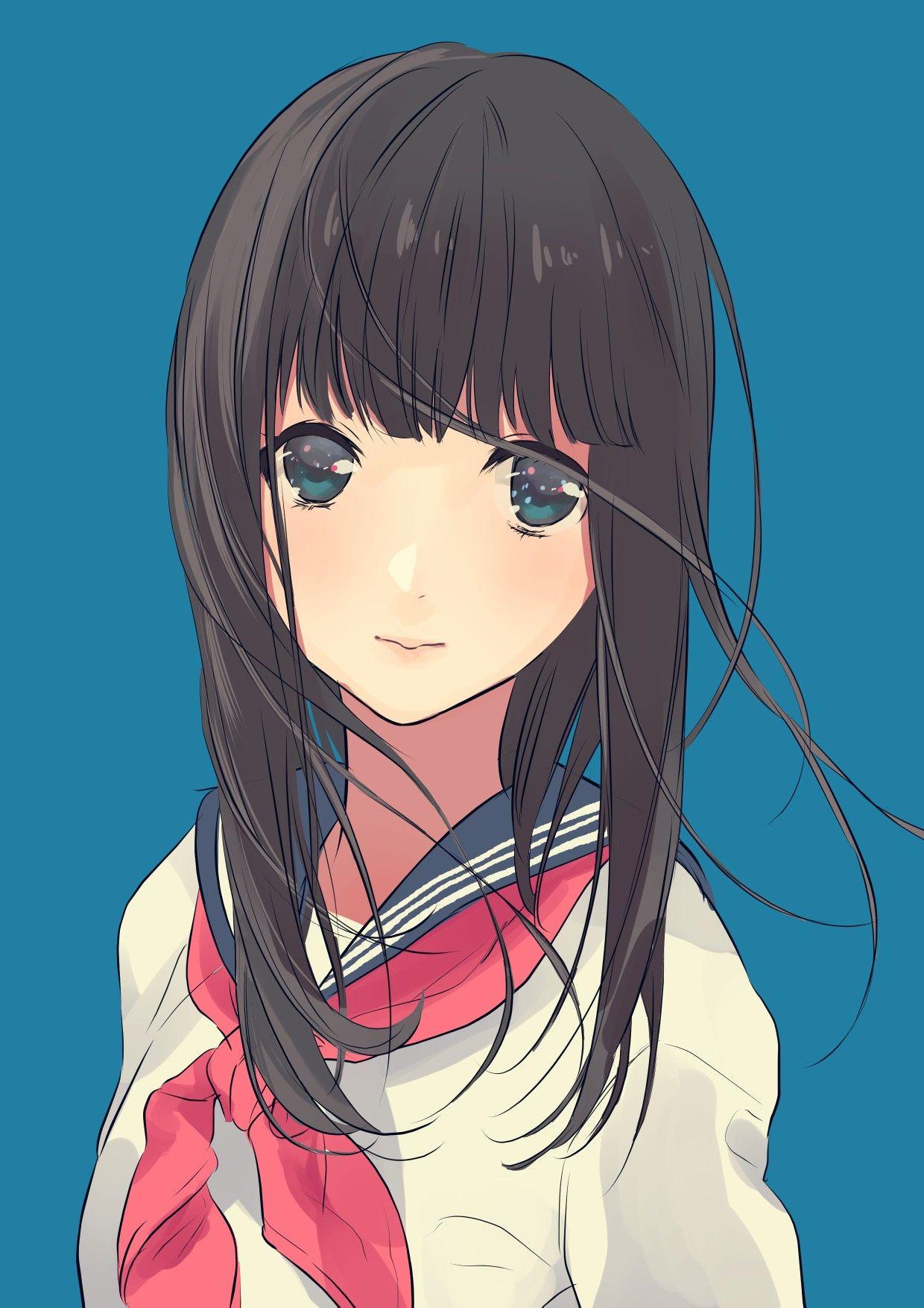 Ghim trên anime girl