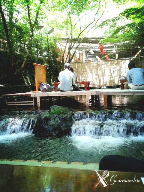over the river at Nakayoshi