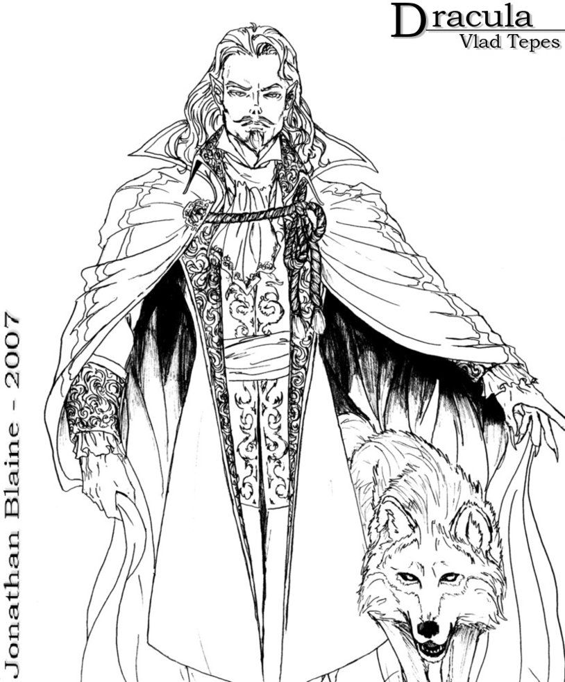 Dracula Vlad Tepes by Wolfgang-Blaine | Vampyre | Pinterest