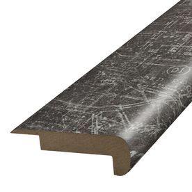 Simplesolutions 2.375-In X 78.7-In Blue Print Stair Nose Floor Mouldin