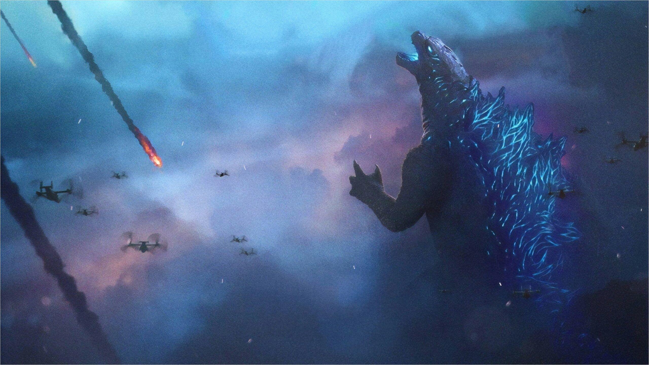 Godzilla 2 Wallpaper 4k In 2020 Godzilla 2 Godzilla Wallpaper