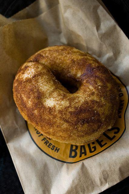 einstein bros bagels cinnamon sugar bagel