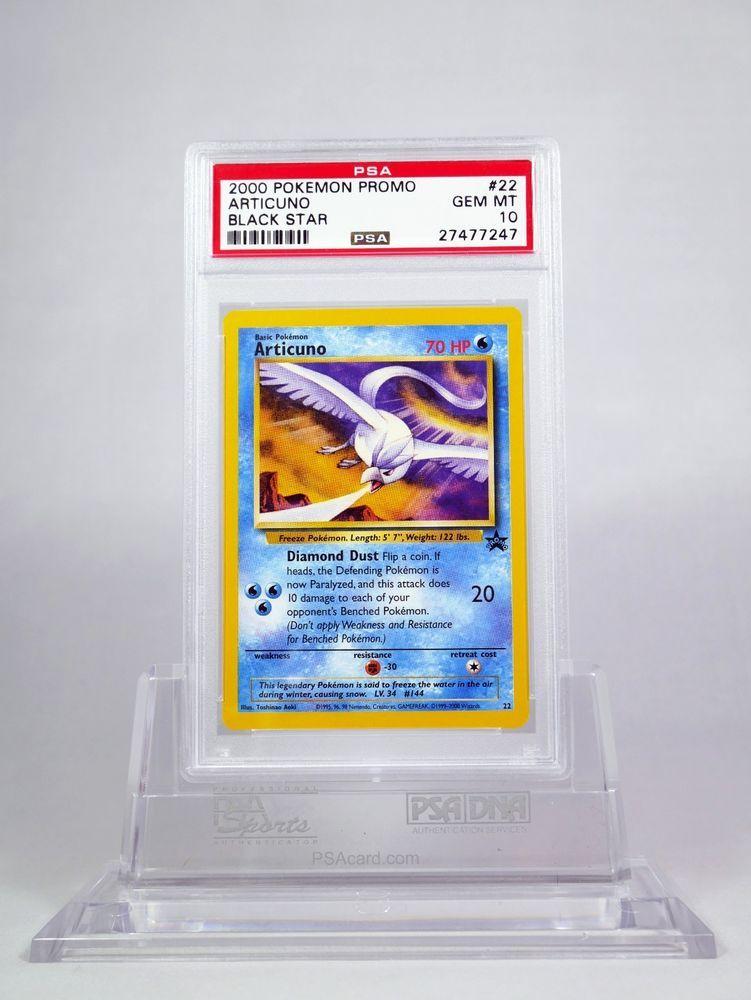 Pokemon Black Star Promo Articuno #22 PSA 10 GEM MINT