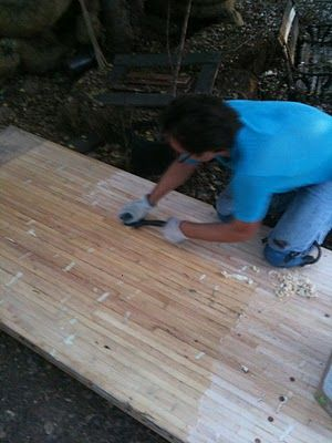 Stripping And Sanding Oh My Diy Bowling Alley Bowling Alley