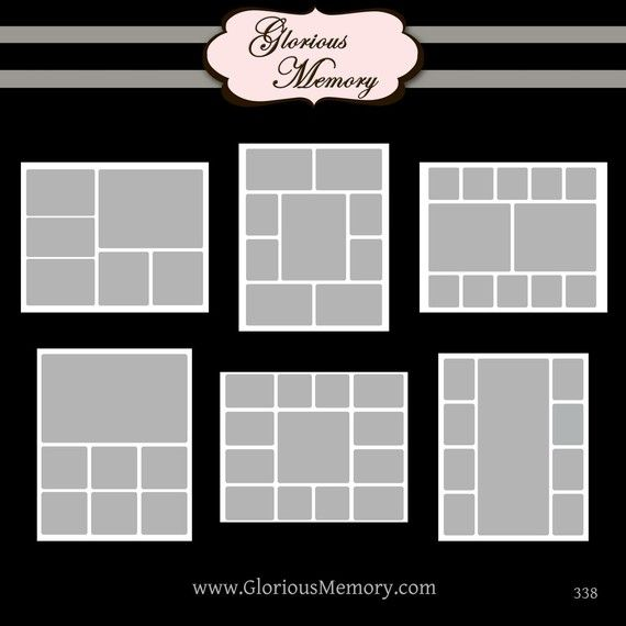 Photoshop Collage Templates Storyboard Blog by GloriousMemory - photography storyboard