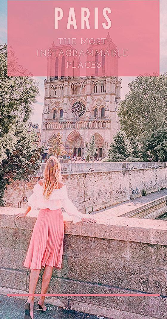 Die schönsten Instagram Spots und Foto Locations in Paris - Guide für Blogger