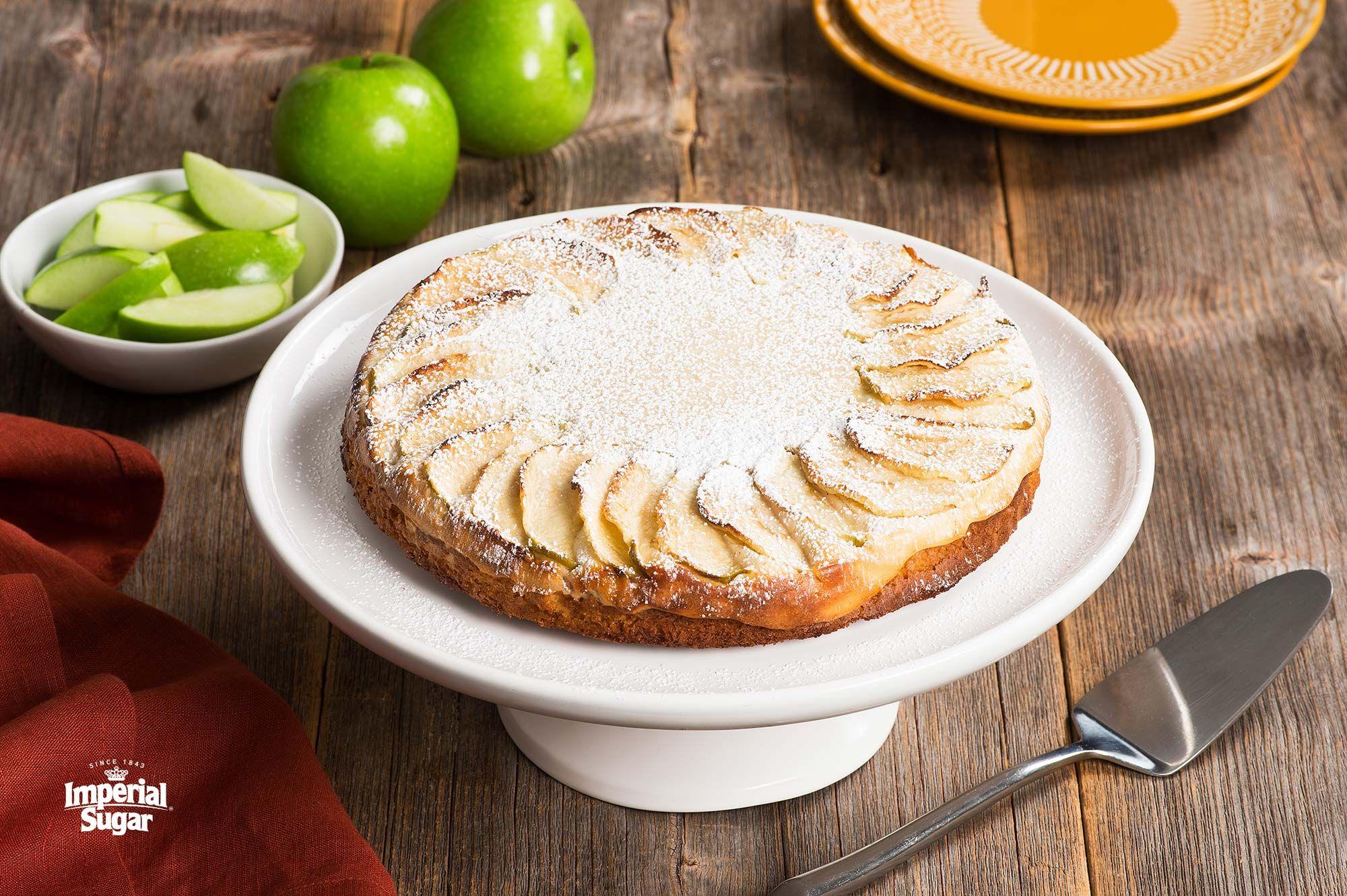 Cream Cheese Swedish Apple Cake Imperial Sugar Southern Praline Cake Swedish Apple Cake Recipe Praline Cake