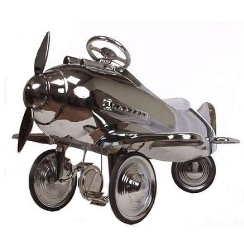 Chrome Pursuit Pedal Plane, All Round Fun Ride on toys