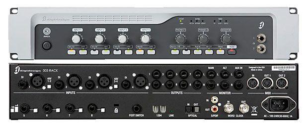 avid digi 003 rack audio rack audio