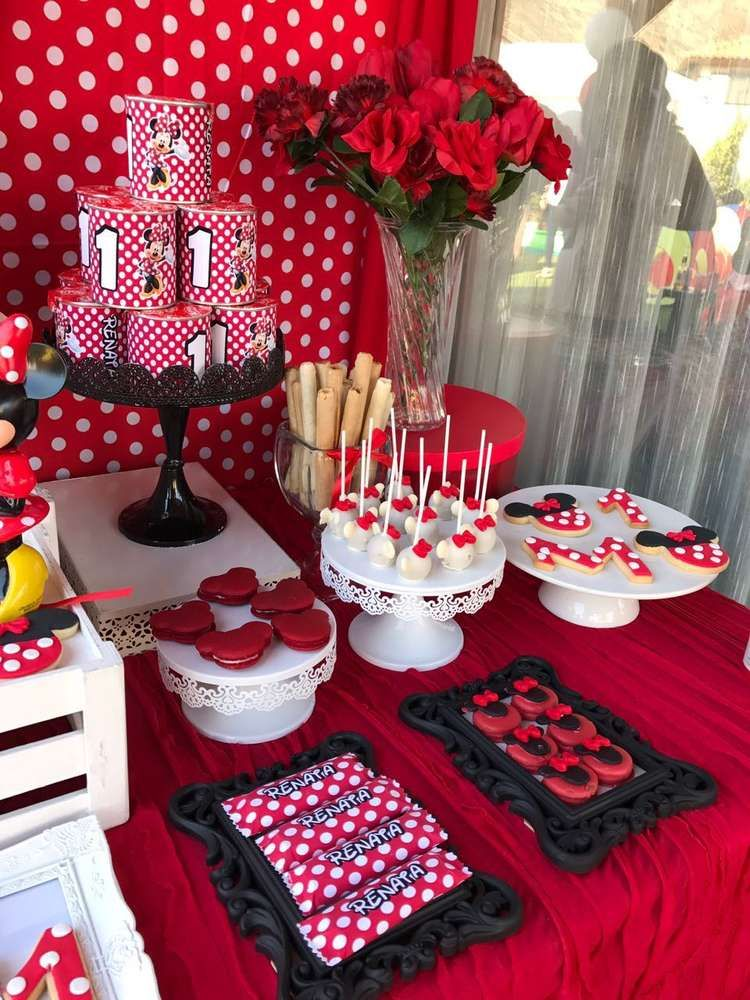 Mickey Mouse Minnie Mouse Birthday Party Ideas Minnie Mouse Birthday Cakes Mickey Mouse Party Decorations Minnie Mouse Birthday Party