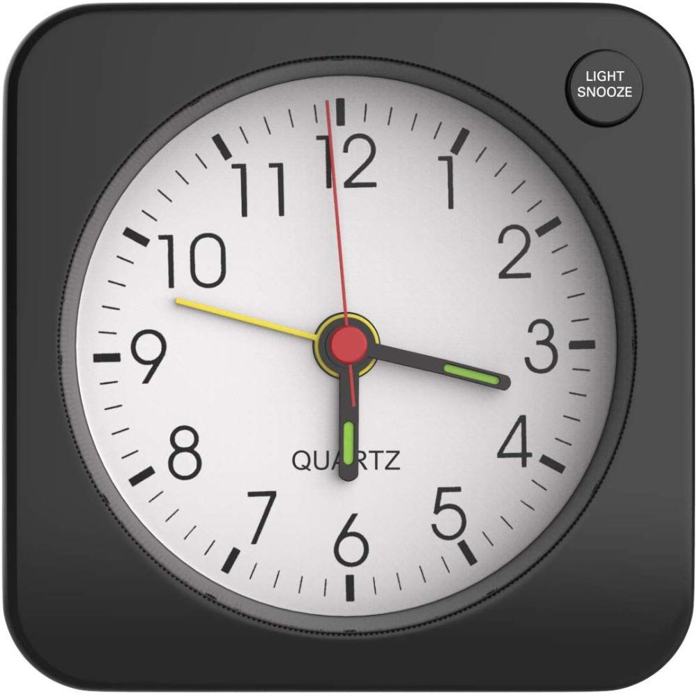Moko Alarm Clock Small Battery Travel