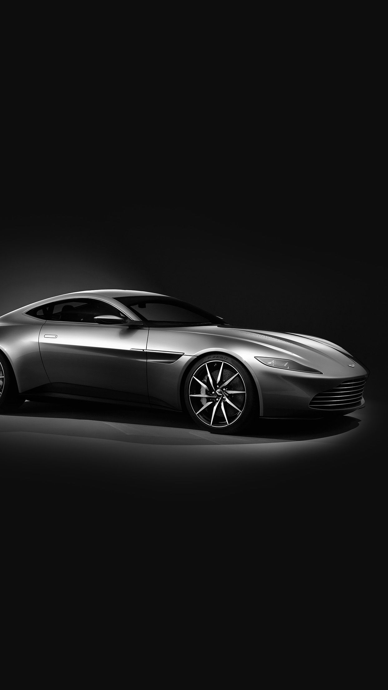Awesome Aston Martin Db10 Sports Car Exotic Dark Bw Iphone6 Plus