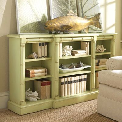 Beach Cottage Interiors | ... On Cottage Style Furniture Bookcases Vero  Beach Bookcase Cottage