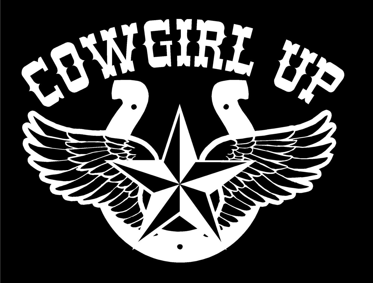 Cowgirl Decal Custom Windows Cars Trucks Tailgates Laptop Bumper