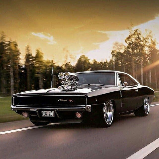 the 1968 dodge hemi charger legendary muscle car