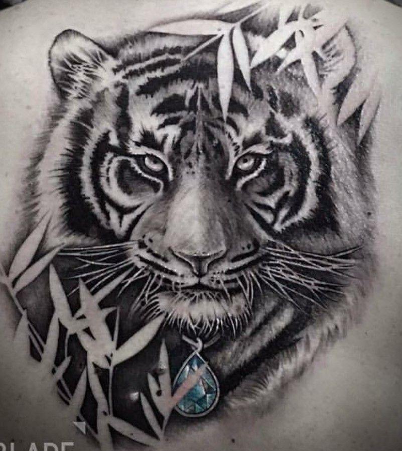 Tiger Tattoo In Zur Back Y Tưởng Hinh Xăm Hinh Xăm Con Hổ Hinh Xăm Sư Tử