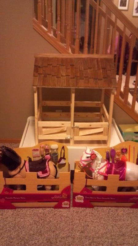 Horse stable for 18 dolls do it yourself home projects from ana horse stable for 18 dolls do it yourself home projects from ana white solutioingenieria Choice Image