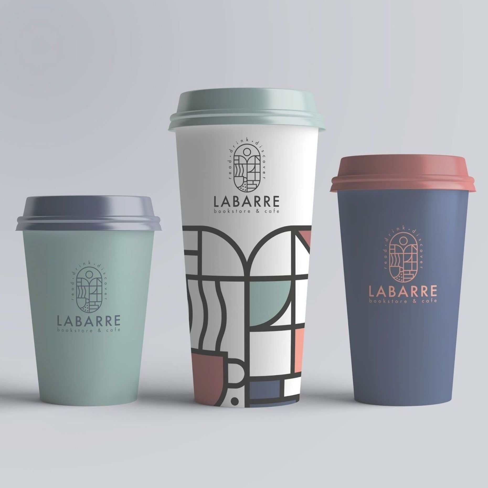Labarre Bookstore Cafe On Packaging Of The World Creative Package Design Gallery Coffee Cup Design Drinks Design Creative Packaging Design