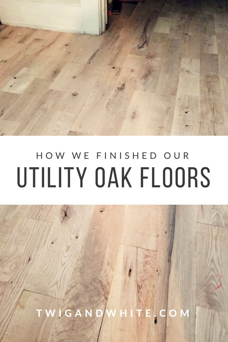 We Are Finally About 98 Finished With Our Floors On The First Floor Minus A Few Sections Of Trim Our Floors A In 2020 Oak Floors Flooring White Oak Hardwood Floors