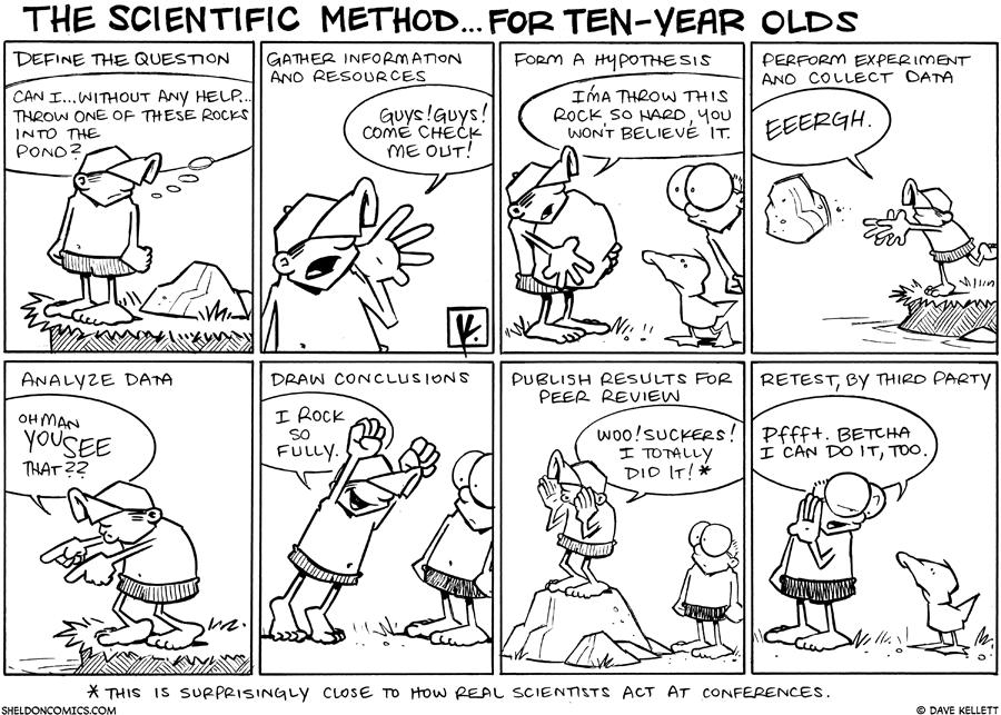 cartoons humor science pinterest scientific method science Scientific Method Progress Cartoon cartoons the lovestats blog