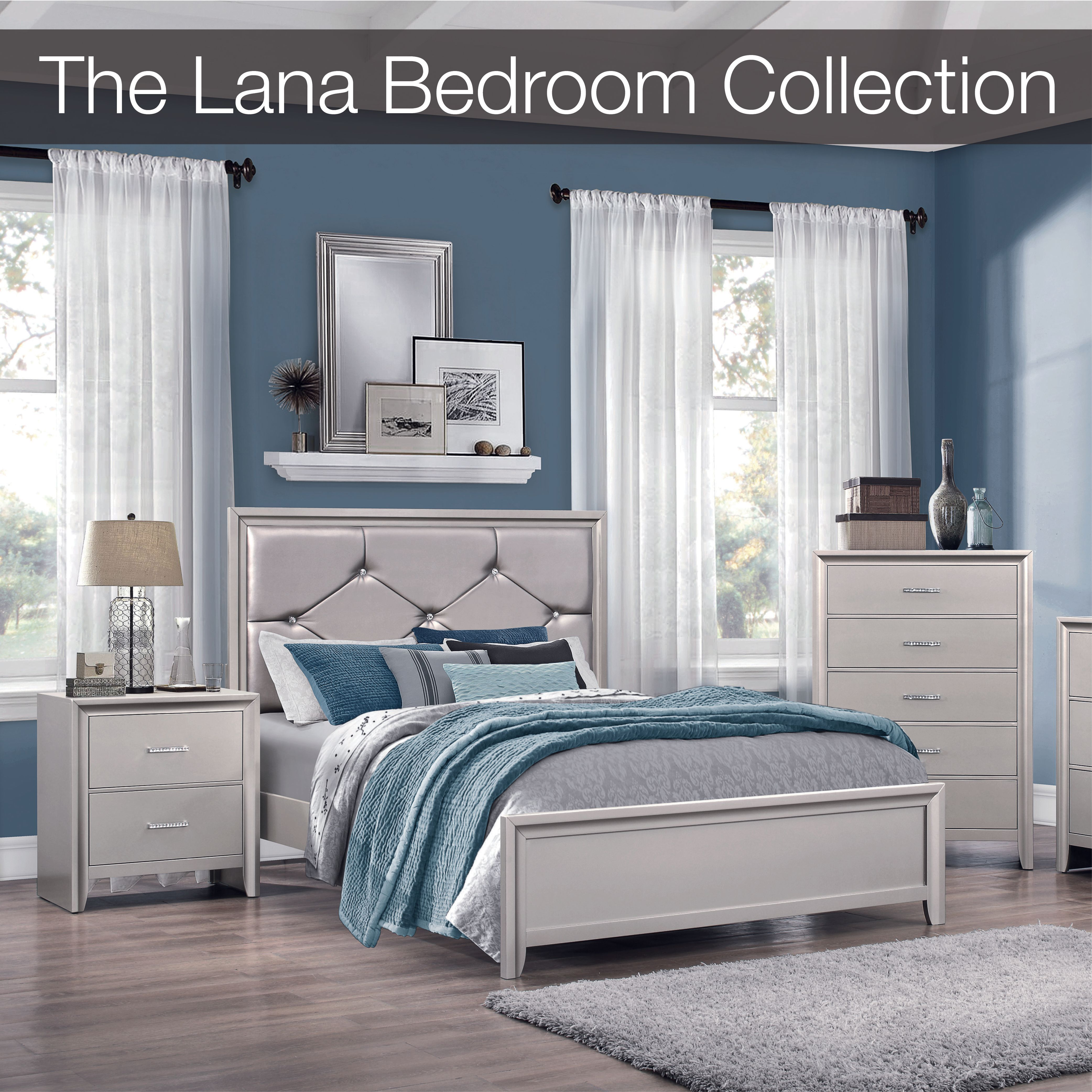 """the affordable """"bling"""" design that turns your bedroom into"""