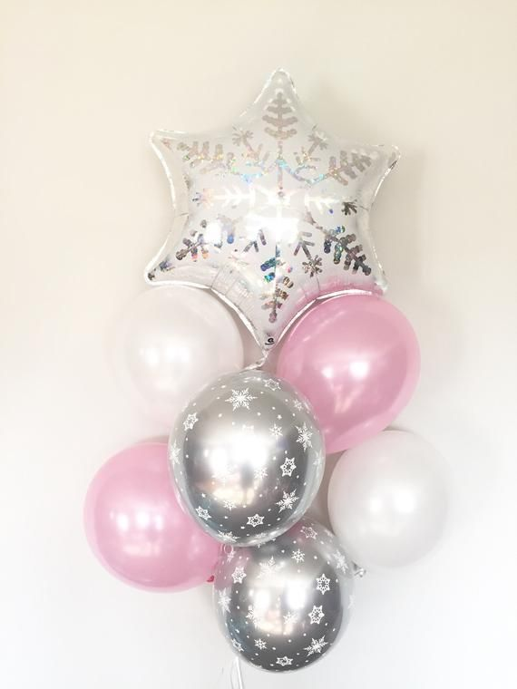 Baby It's Cold Outside Baby Shower Decor   Winter Baby Shower   Snowflake Balloons   Winter ONEderland Birthday Balloons #neiged#39;hiver