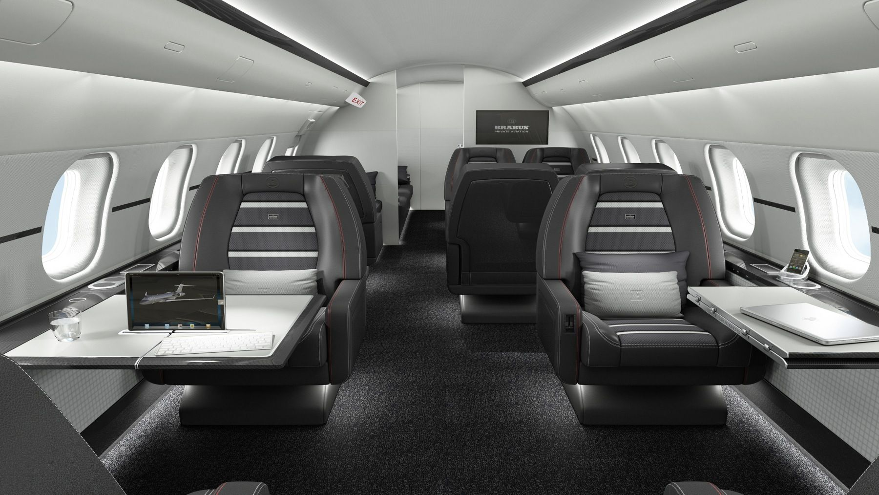 Brabus Aviation German Design Studio Brabus Private Aviation An Offshoot Of The Long