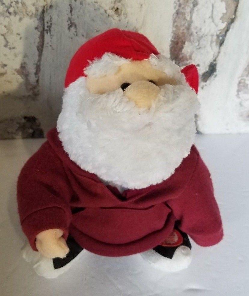 f6ee914dab9bb Musical Modern Santa Jeans Hoodie plush Sings Jolly Beeswax Christmas TL  Toys  TLToys