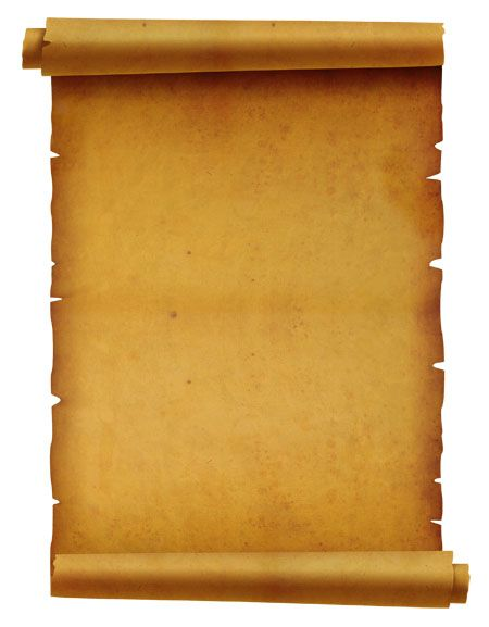 Free high resolution Old Curled Paper Texture with torn