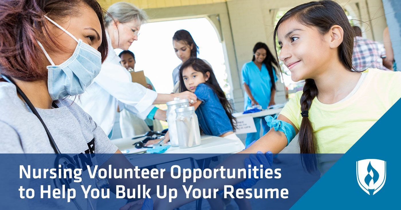 8 nursing volunteer opportunities to help bulk up your