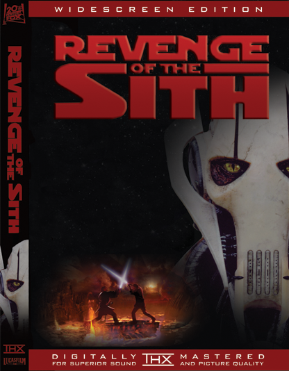 Star Wars Episode Iii Revenge Of The Sith Dvd Cover General Grievous Star Wars Episodes Revenge Sith