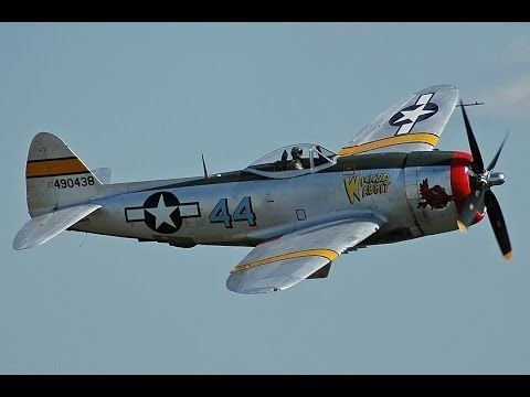Aguilas De Guerra- P-47 Thunderbolt - YouTube
