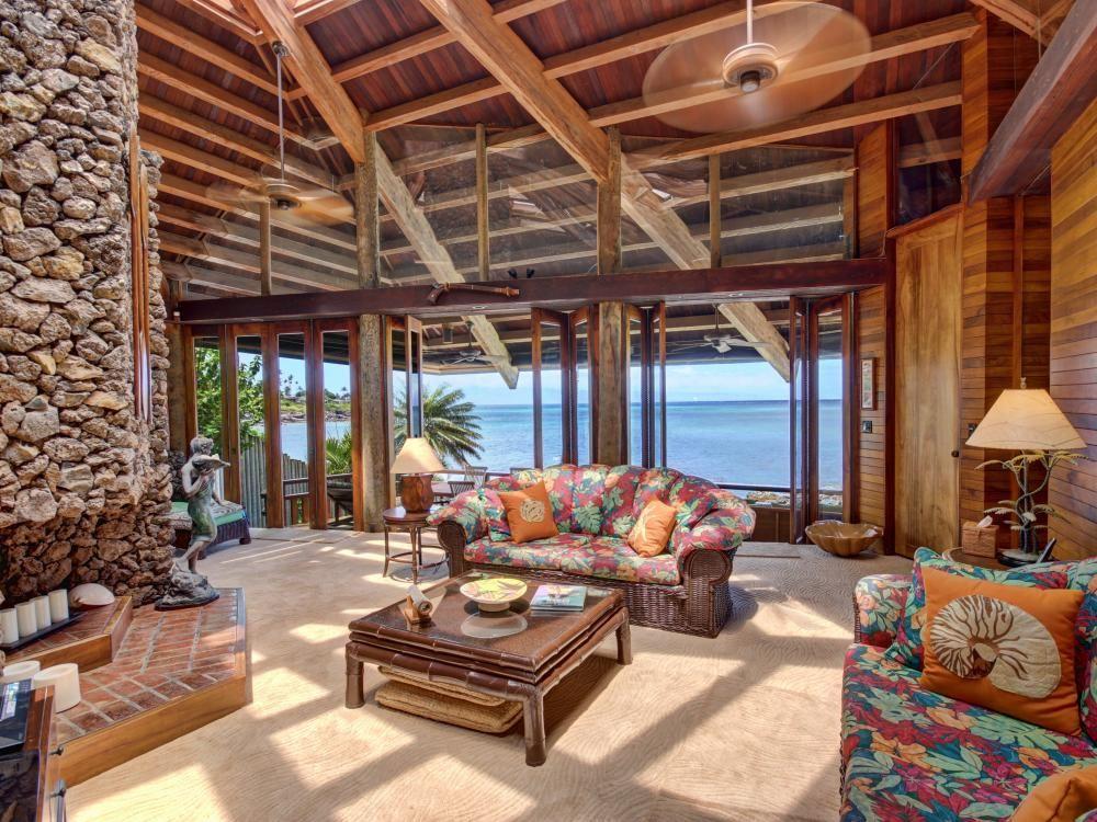 Exotic Kona Bay Hawaii Beachfront Tropical Paradise
