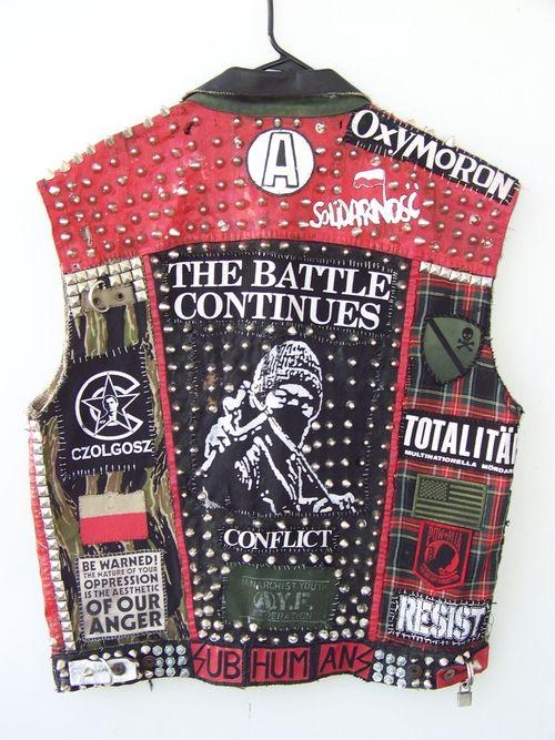 punk vest | Fuck Yeah Punk Jackets, SWAMPUNX yeah yeah repost
