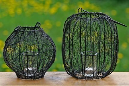 Mooie zwarte lantaarns voor op de tuintafel. Voor lange zomeravinden buiten! Natuurlijk ook erg leuk voor binnen.