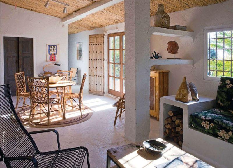 luminosa casa campestre con pr cticos muebles de obra