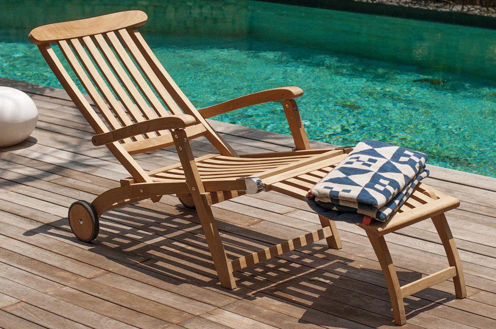 Villeroy und Boch Sonnenliege Sunrise Deckchair Liegestuhl - liegestuhl im garten 55 ideen fur gestaltung vom lounge bereich