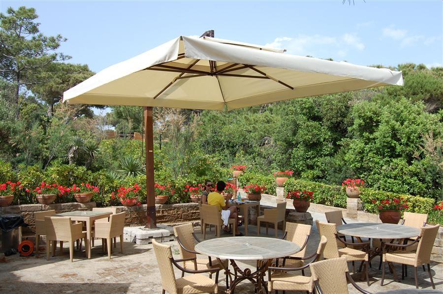 Captivating Italian Patio Umbrellas