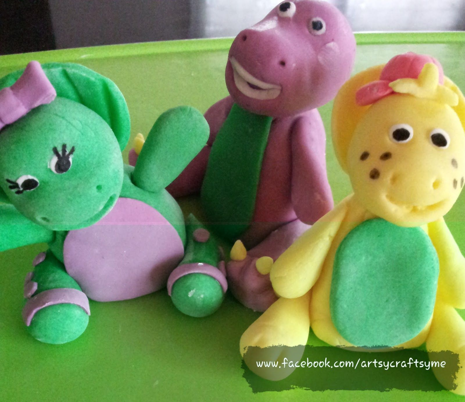 Brilliant A Week Late Last Saturdays Other Cakes With Images Barney Funny Birthday Cards Online Sheoxdamsfinfo