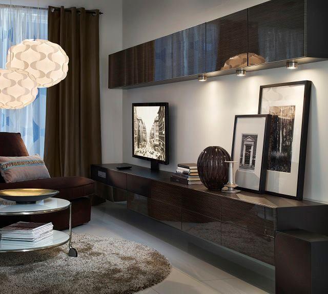 TV furniture from ikea   living room   Pinterest   Tv, salas de TV y ...