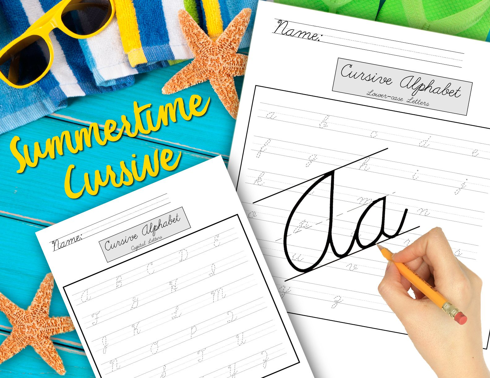 Fit In Some Cursive Handwriting Practice This Summer
