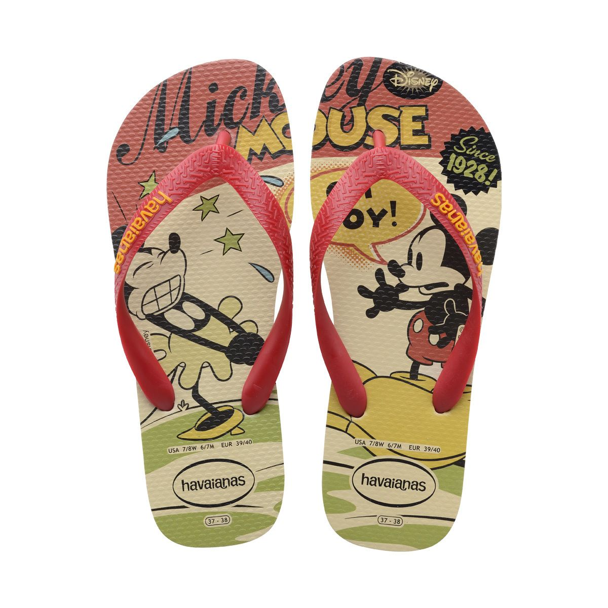 The Women's Disney Stylish features prints of everyone's favorite Disney's  characters along with the our signature textured footbed. Shop at Havaianas.