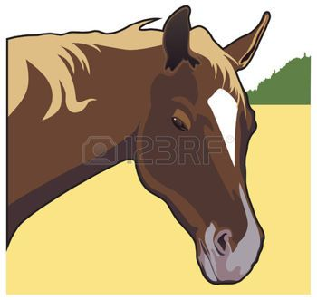 Gelding Stock Vector Illustration And Royalty Free Gelding Clipart
