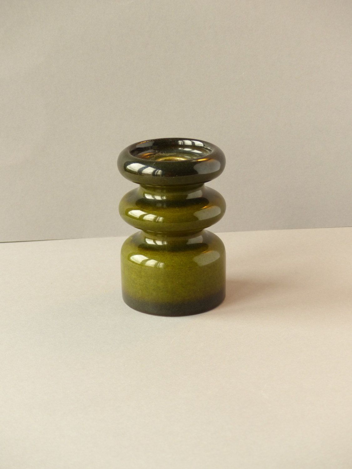 Vintage Design Kandelaar.Vintage Design Candle Holder By Steuler West Germany
